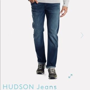 Hudson Byron Straight Button-fly Jeans